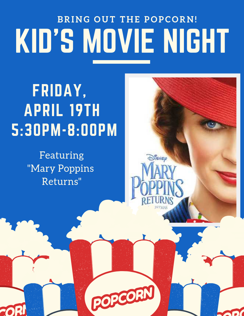 Kid's Night | Mary Poppins Returns @ One Hundred Club