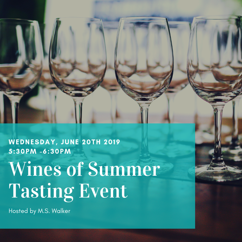 Wines of Summer Tasting Event @ One Hundred Club