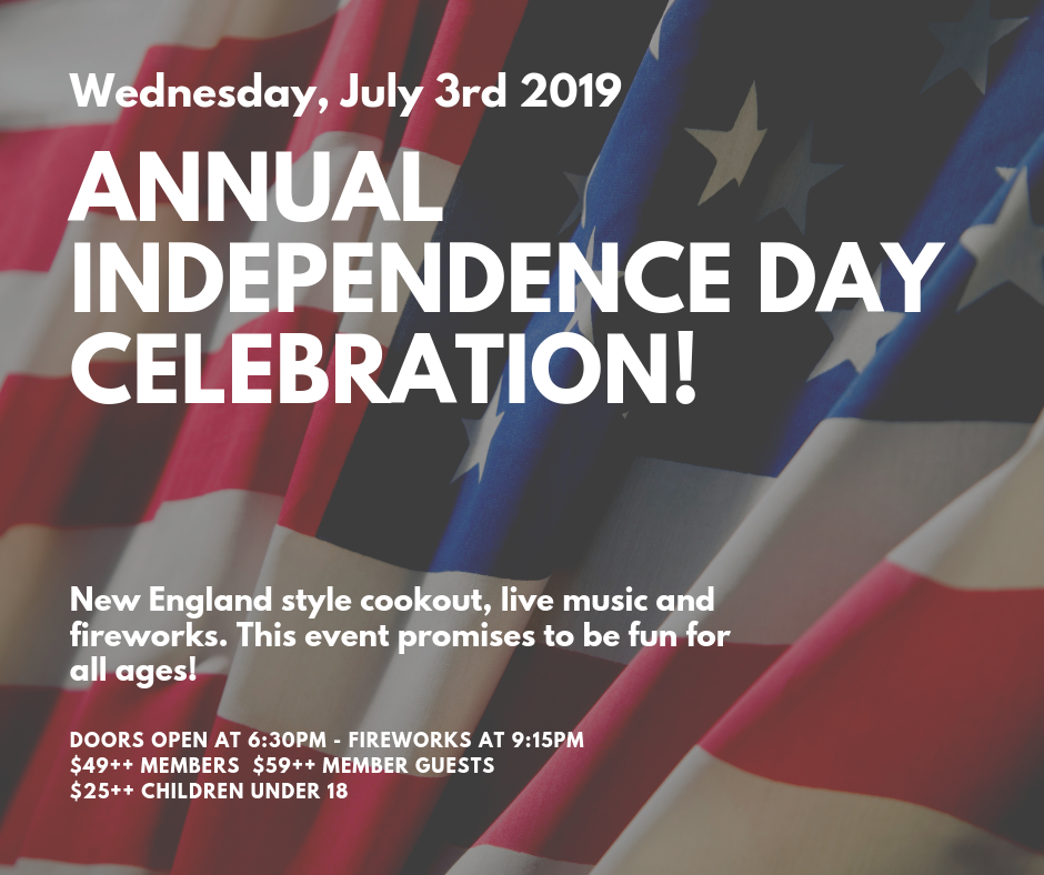 Independence Day Celebration 2019 @ One Hundred Club