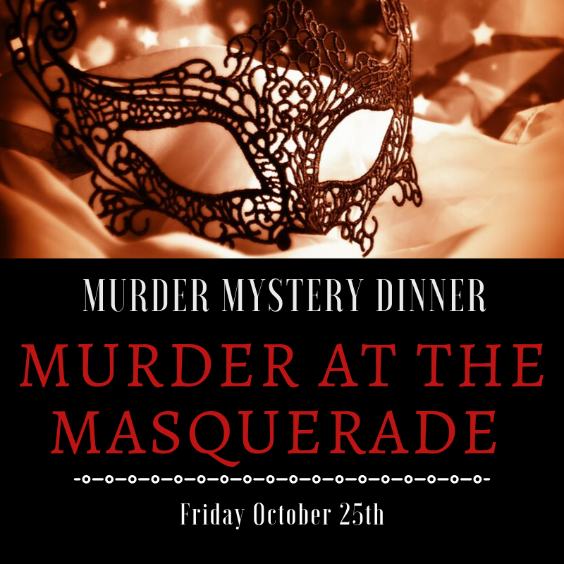 Murder Mystery Dinner | Murder at the Masquerade @ One Hundred Club