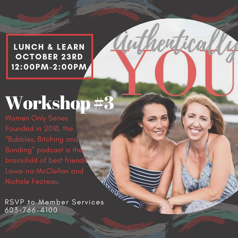 "Workshop #3 of the ""Authentically You"" Lunch & Learn @ One Hundred Club"