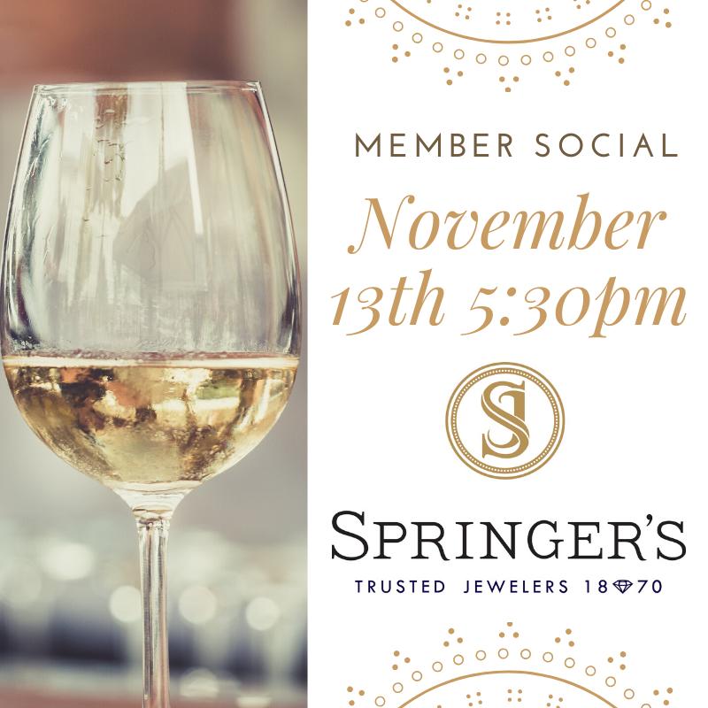 Springer's Jewelers Member Social @ One Hundred Club